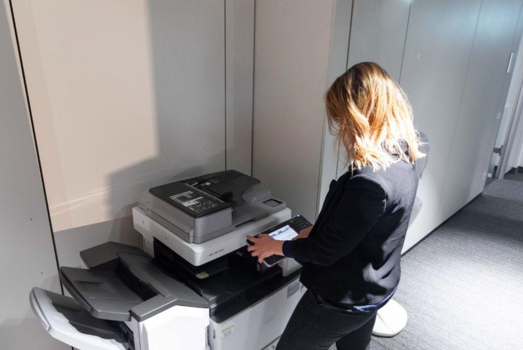 Leistungsstarker Drucker & Scanner