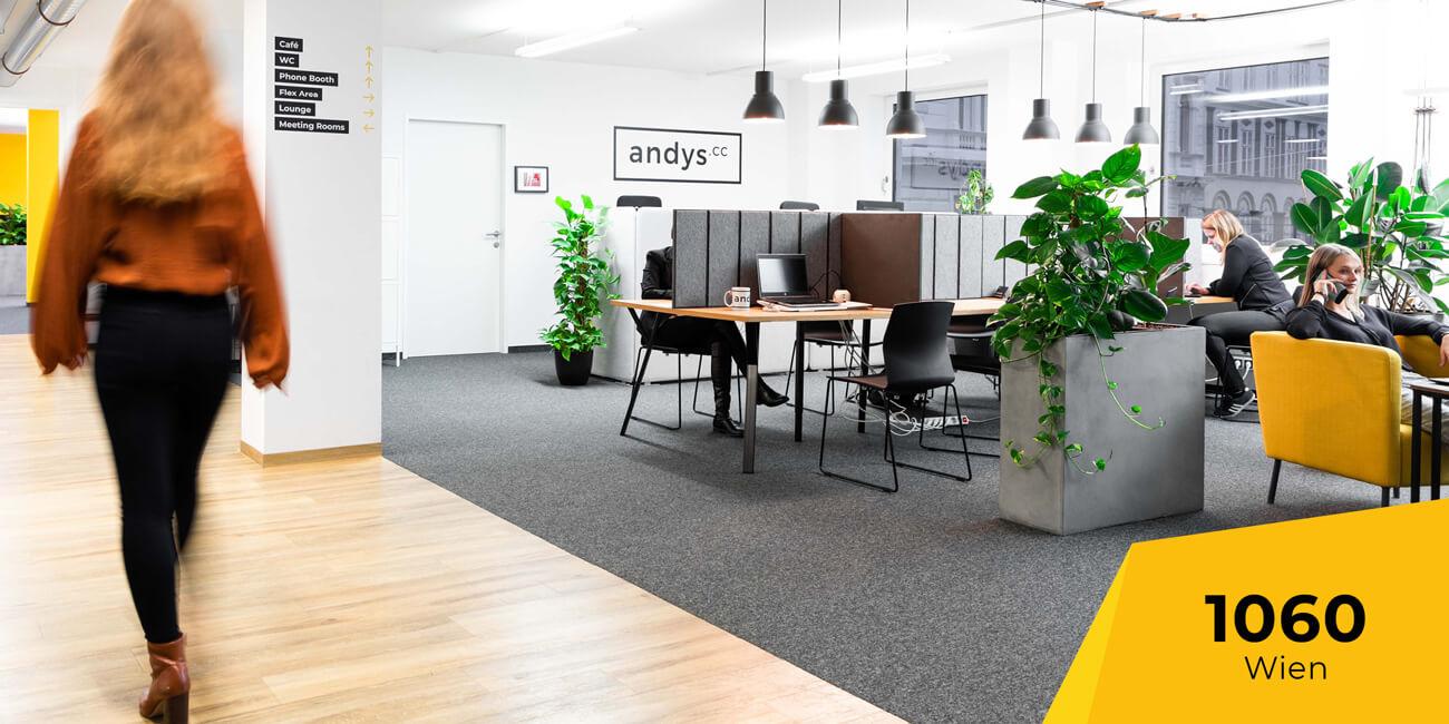 Standort 1060 Wien Coworking Space